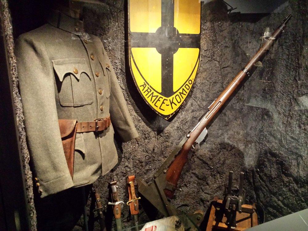2014 Schützengraben Heeresgeschichtliche Museum Wien © Winter Artservice