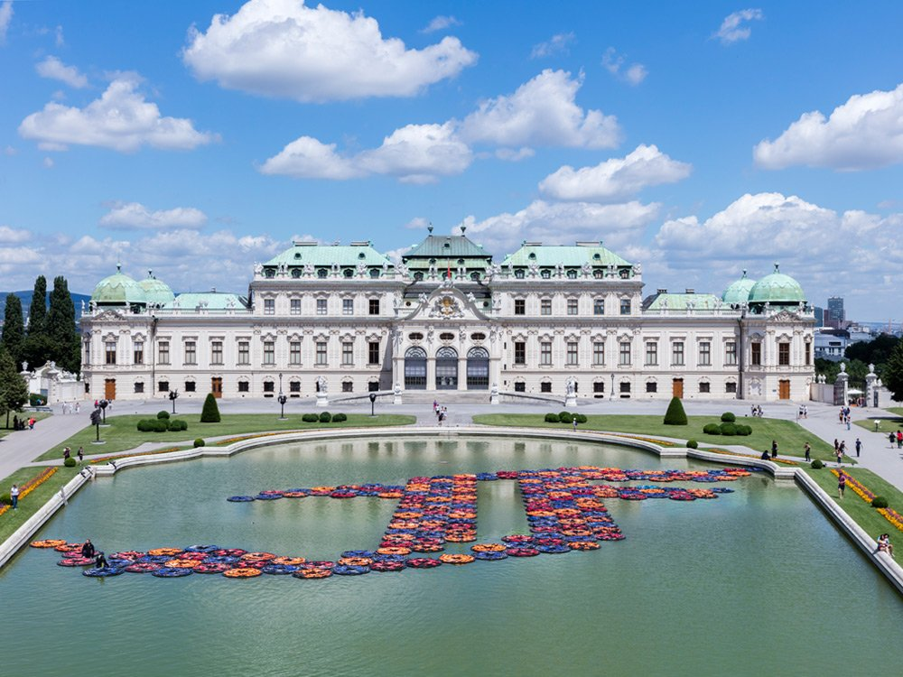 AI WEIWEI. translocation – transformation. Installation F Lotus - Belvedere Wien © Johannes Stoll