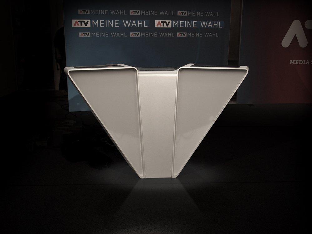2016 – ATV – Bundespräsidentenwahl © Peter Mitterer Architekten