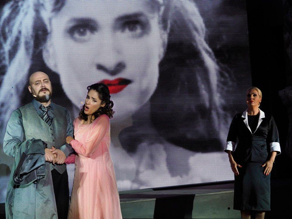 Rigoletto, Oper im Steinbruch © Arenaria GmbH, Armin Bardel