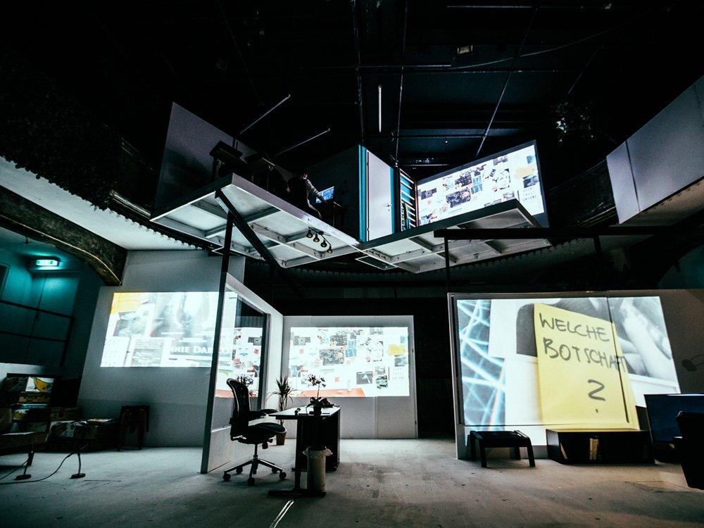 2018 Digitalis Trojana – Schauspielhaus Wien © Matthias Heschl