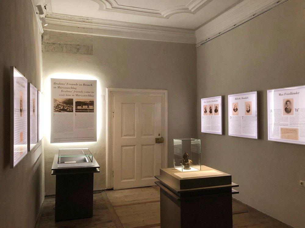 2018 Einsam & Gesellig – Brahms-Museum Mürzzuschlag © Brahms-Museum Mürzzuschlag
