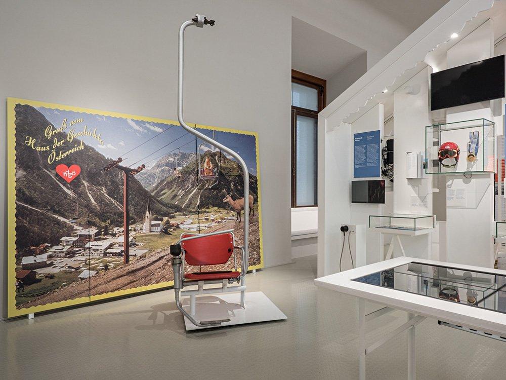 2018 Haus der Geschichte Österreich - Aufbruch ins Ungewisse © Hertha Hurnaus