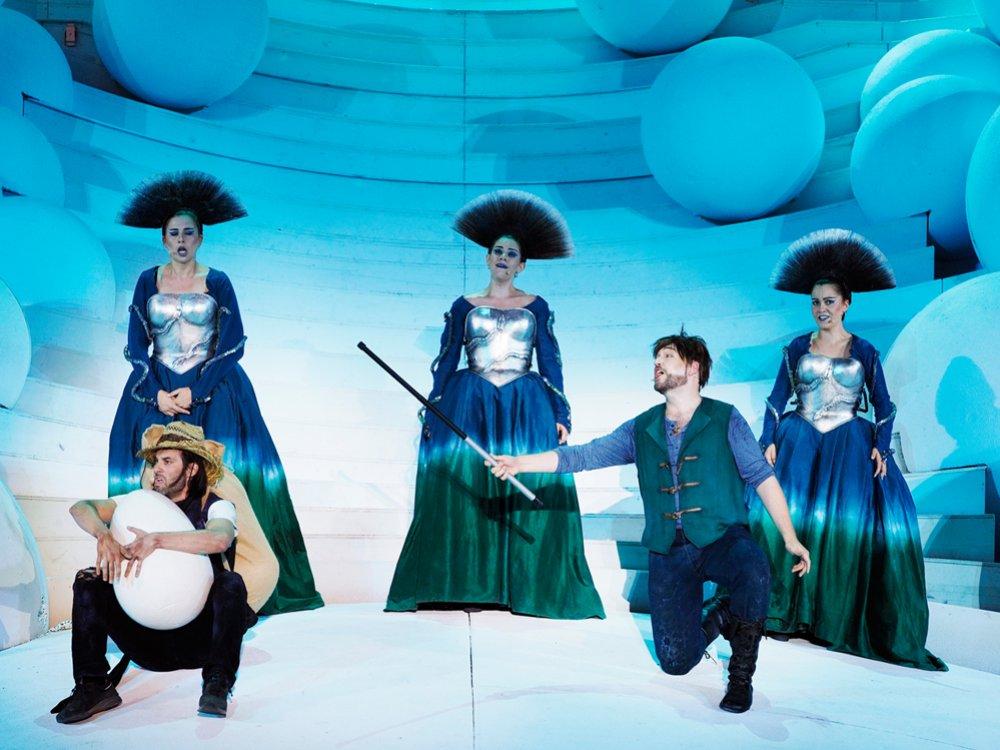 2019 – Die Zauberflöte, Oper im Steinbruch © Armin Bardel