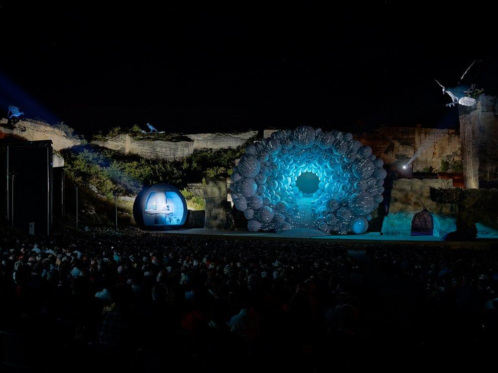 2019 – Die Zauberflöte, Oper im Steinbruch © Thomas Ludwig
