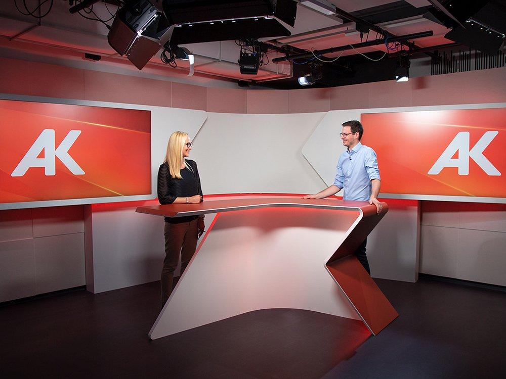 2020 Arbeiterkammer Fernsehstudio © Arbeiterkammer