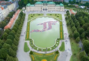AI WEIWEI. translocation – transformation. Installation F Lotus - Belvedere Wien © Ai Weiwei Studio