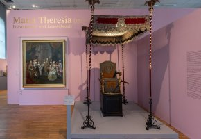 Kaiserliche Wagenburg Wien, Maria Theresia © KHM-Museumsverband